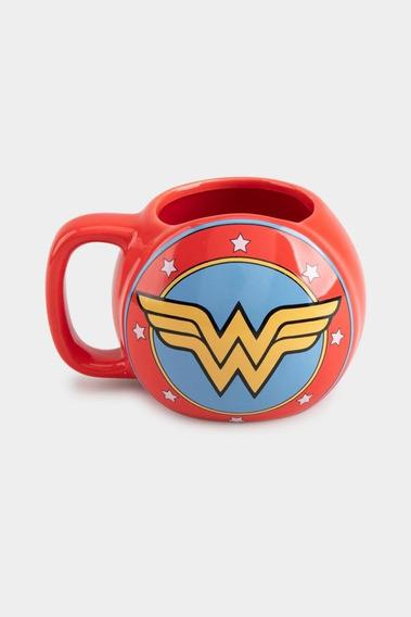 Taza Escudo WonderWoman